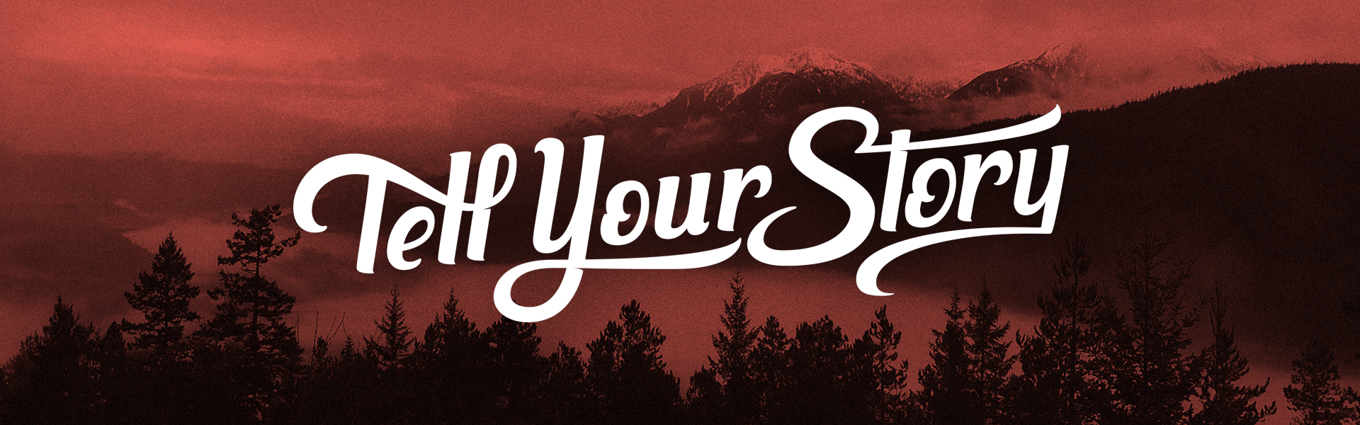 Tell Your Story Campsite Mobile Header